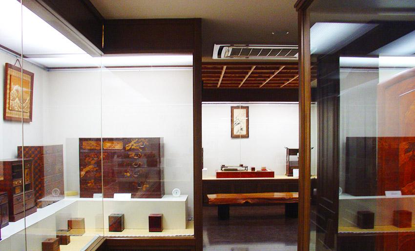 箱根寄木細工 本間木工所・本間寄木美術館 展示室